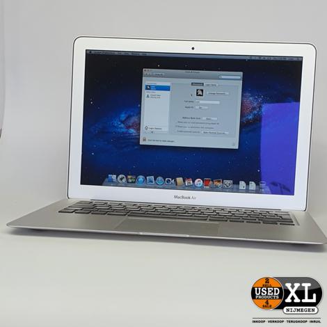 Macbook Air 2011 13 Inch | 4GB 256GB | met Garantie