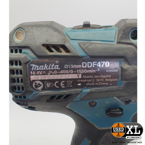 Makita DDF470 Accuboor Schroefmachine | incl Garantie