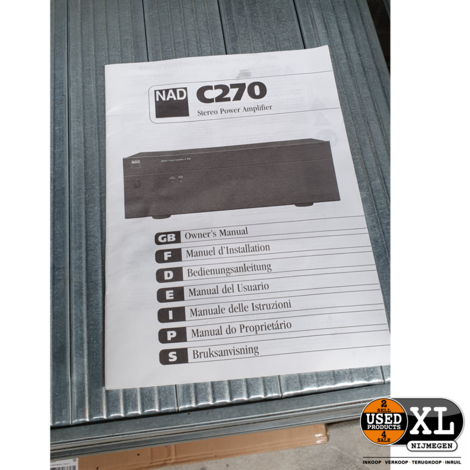 NAD C270 Hifi Eindversterker | Nette Staat