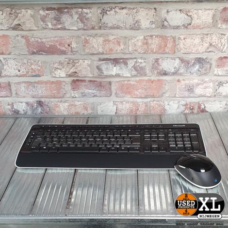 Microsoft Wiresless Keyboard 3050 met Muis   met Garantie