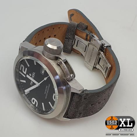 TW Steel Herenhorloge Zilver\Zwart   met Garantie