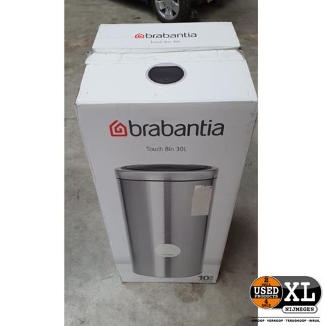 Brabantia Touch Bin 30L | Nieuw in Doos