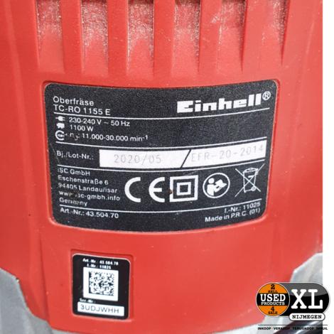 Einhell TC-RO 1155 Bovenfrees   incl Garantie