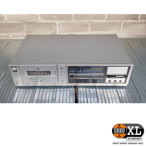 Philips 70FC141/00 Cassette Deck | met Garantie
