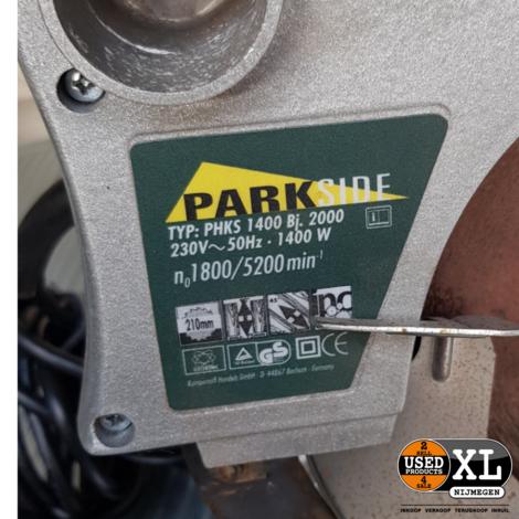Parkside PHKS 1400 Cirkelzaag | met Garantie
