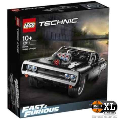 Lego Technic 42111 Dom's Dodge Charger   met Garantie