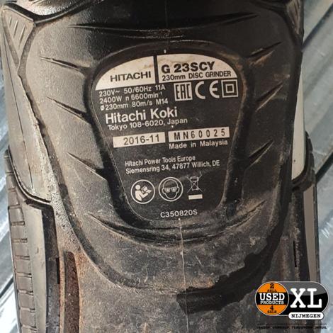 Hitachi G23SCY Haakse Sijper 230mm | incl Garantie