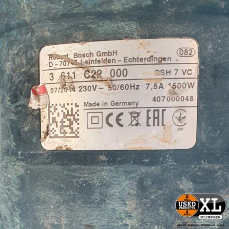Bosch GSH 7 VC Professional | incl Garantie