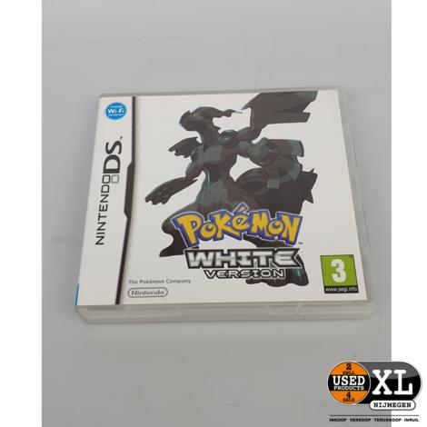 Pokémon White Version Nintendo DS Game | met Garantie