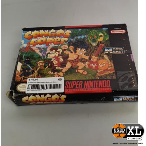 Congo's Caper Super Nintendo Game | met Garantie