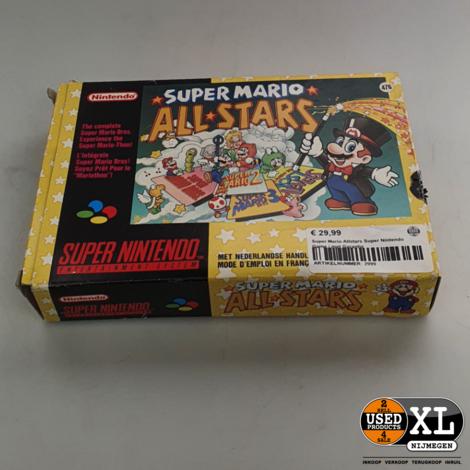 Super Mario Allstars Super Nintendo Game | met Garantie