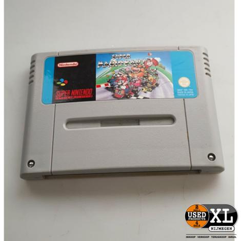 Super Mario Kart Super Nintendo Game   met Garantie