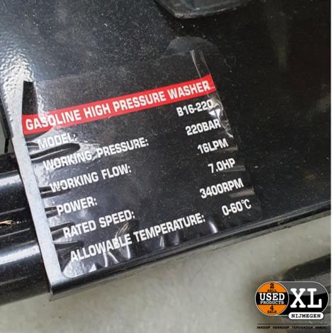 Projet B16-220 Benzine Hogedrukreiniger   Nieuw in Doos