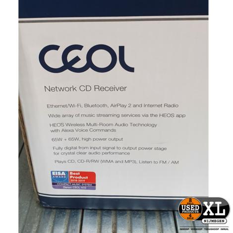 Denon RCDN10 Network CD Receiver   Nette Staat