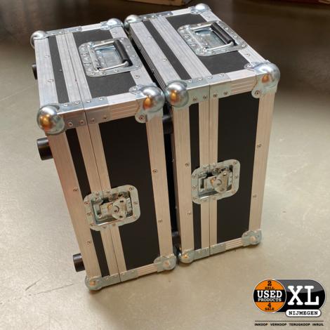 2x Pioneer XDJ-1000 Mediaspeler    incl Flightcases   incl Garantie