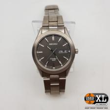Seiko Titanium 7N43-0AB0 Heren Horloge   Nette Staat