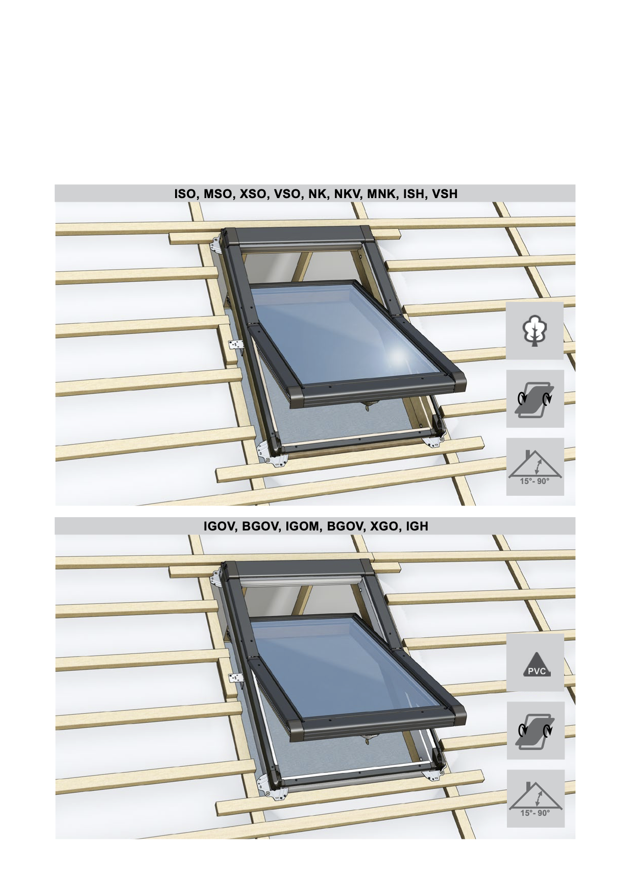 Montage handleiding Intura tuimel dakvensters