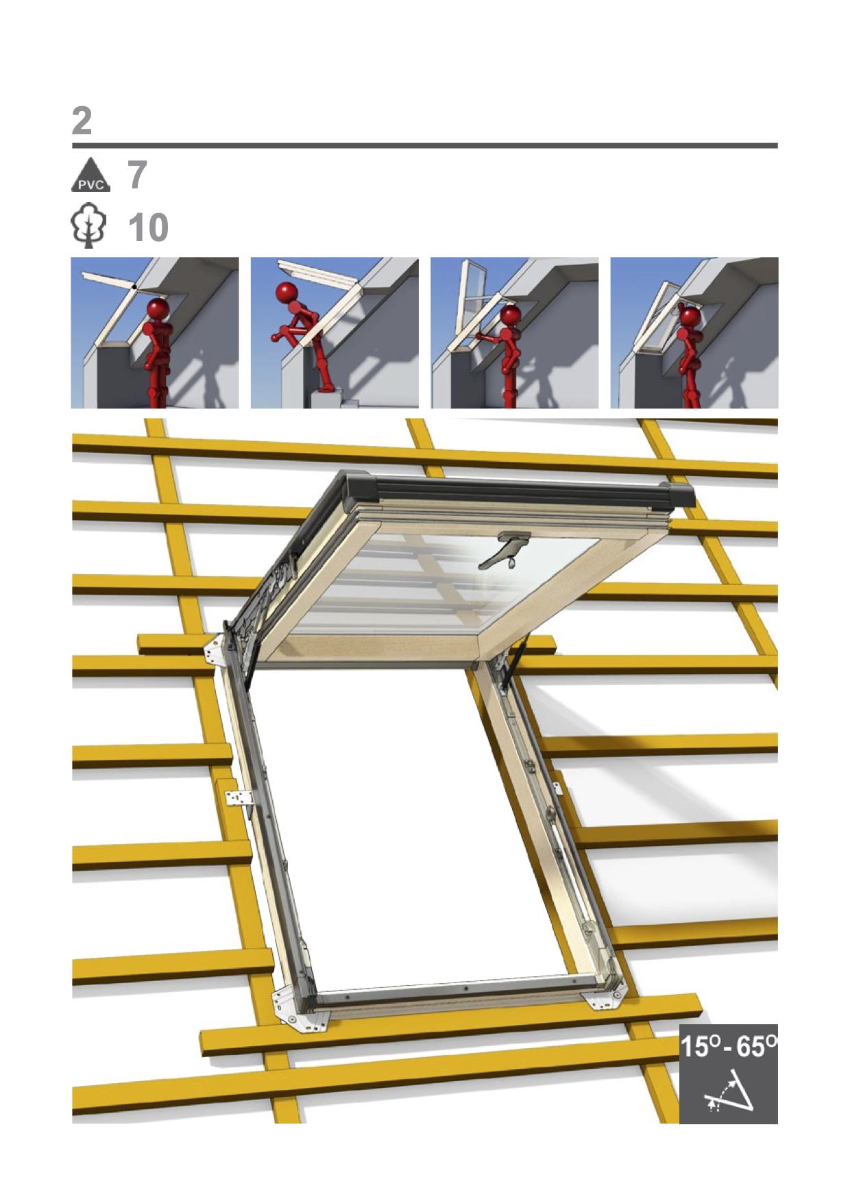 Montage handleiding Intura uitzet dakvensters