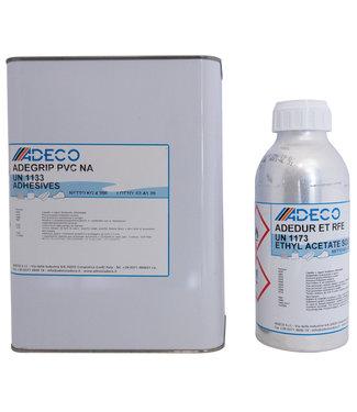Adeco PVC Rubberboot Reparatieset 2 componenten 4.2 l