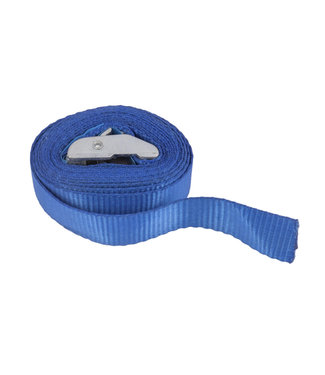 Spanband 25 mm x 250 cm Blauw