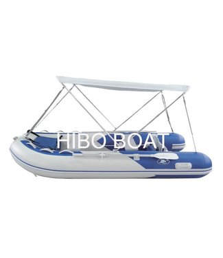 HIBO HIBO Rubberboot Biminitop RVS