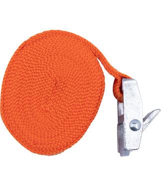 Spanband 25 mm x 250 cm Oranje