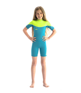 JOBE JOBE Shorty Wetsuit Kind Boston 2mm Teal