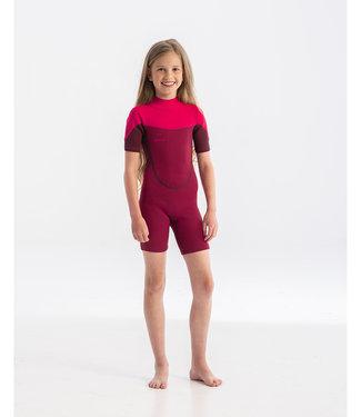 JOBE JOBE Shorty Wetsuit Kind Boston 2mm Roze