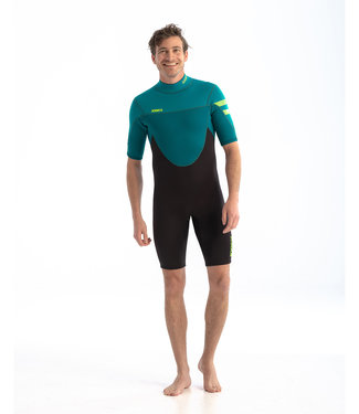 JOBE JOBE Shorty Wetsuit Heren Perth 3/2 Teal