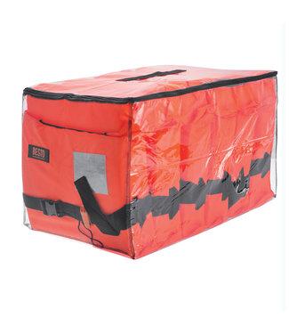 Besto Besto Pakket 6 Reddingsvesten Gulf 100N Oranje met Draagtas