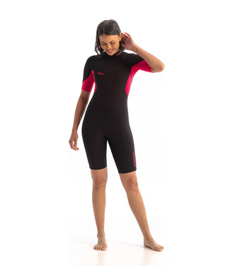 JOBE JOBE Shorty Wetsuit Dames Sofia 3/2 Roze