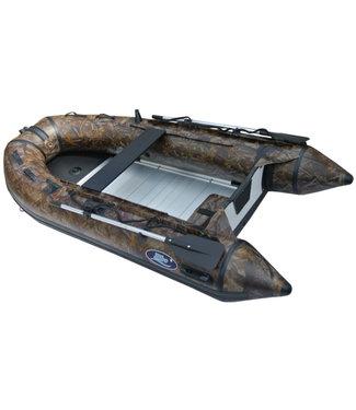 HIBO HIBO PRO Rubberboot Camouflage Karperboot 2.70