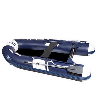 HIBO HIBO Airdeck Rubberboot Style Donkerblauw/Wit 3.00