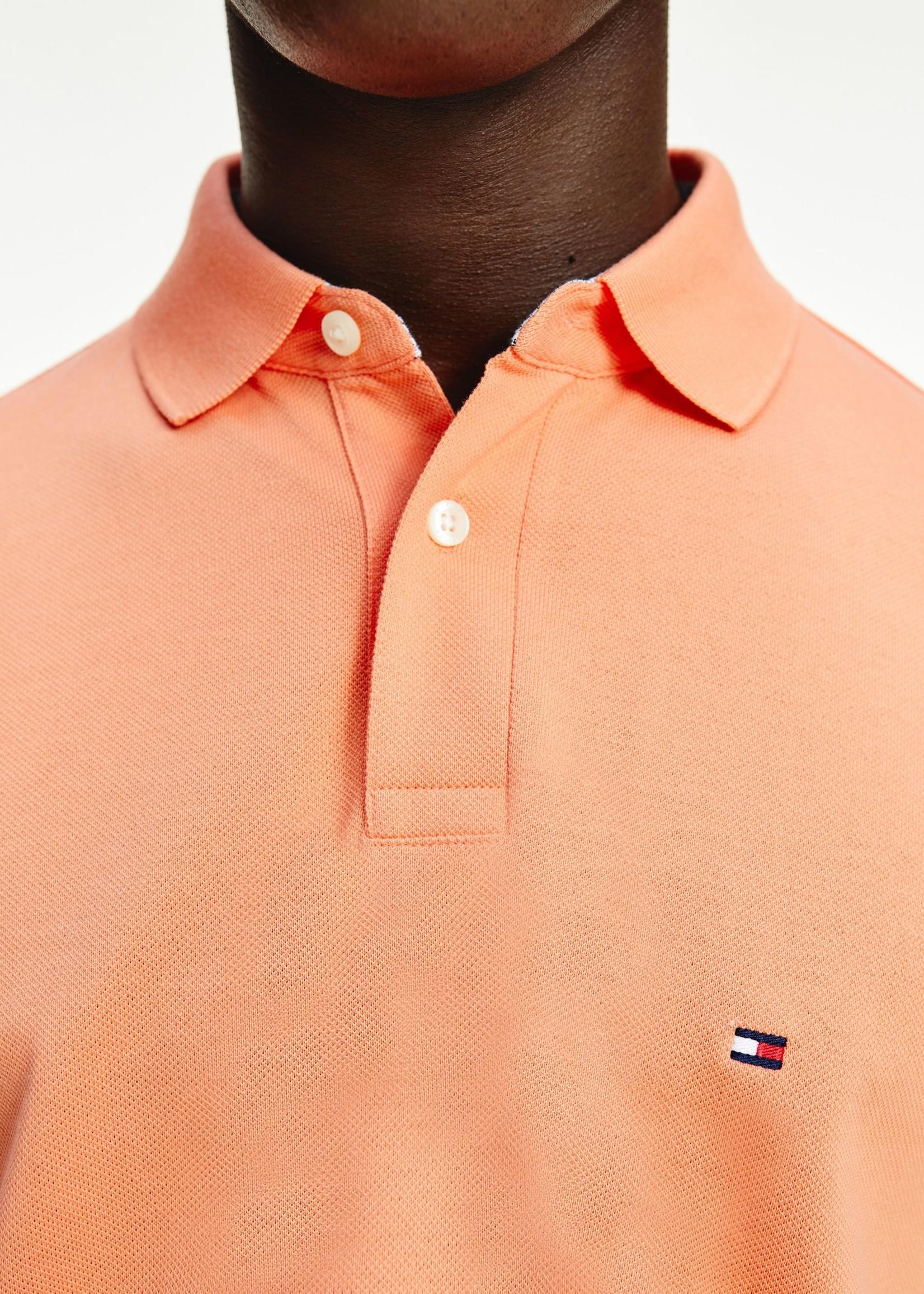 Tommy Hilfiger Polo coupe standard à logo 1985 | Orange | Tommy Hilfiger