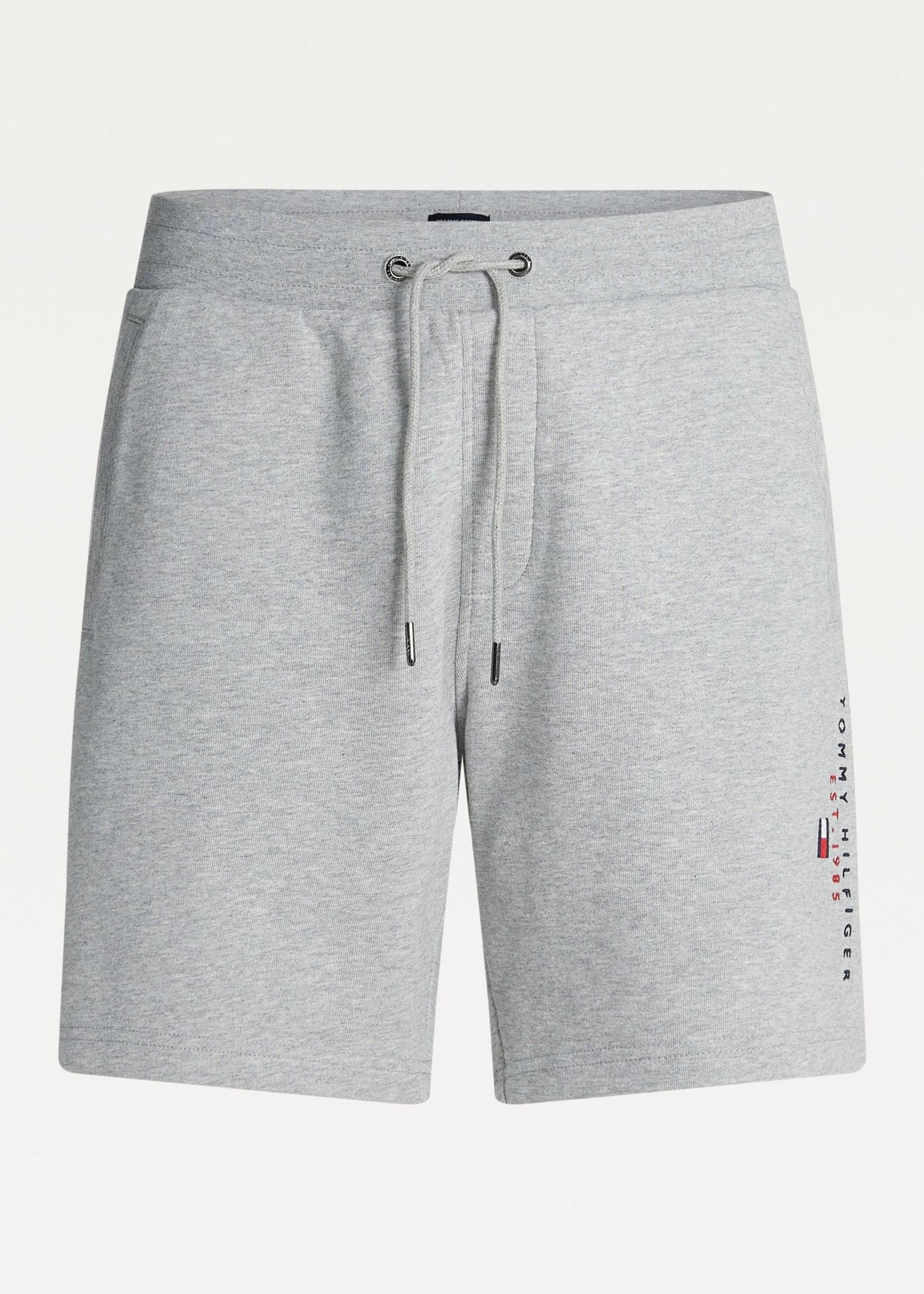 Tommy Hilfiger Short de jogging Essential en coton bio | Gris | Tommy Hilfiger