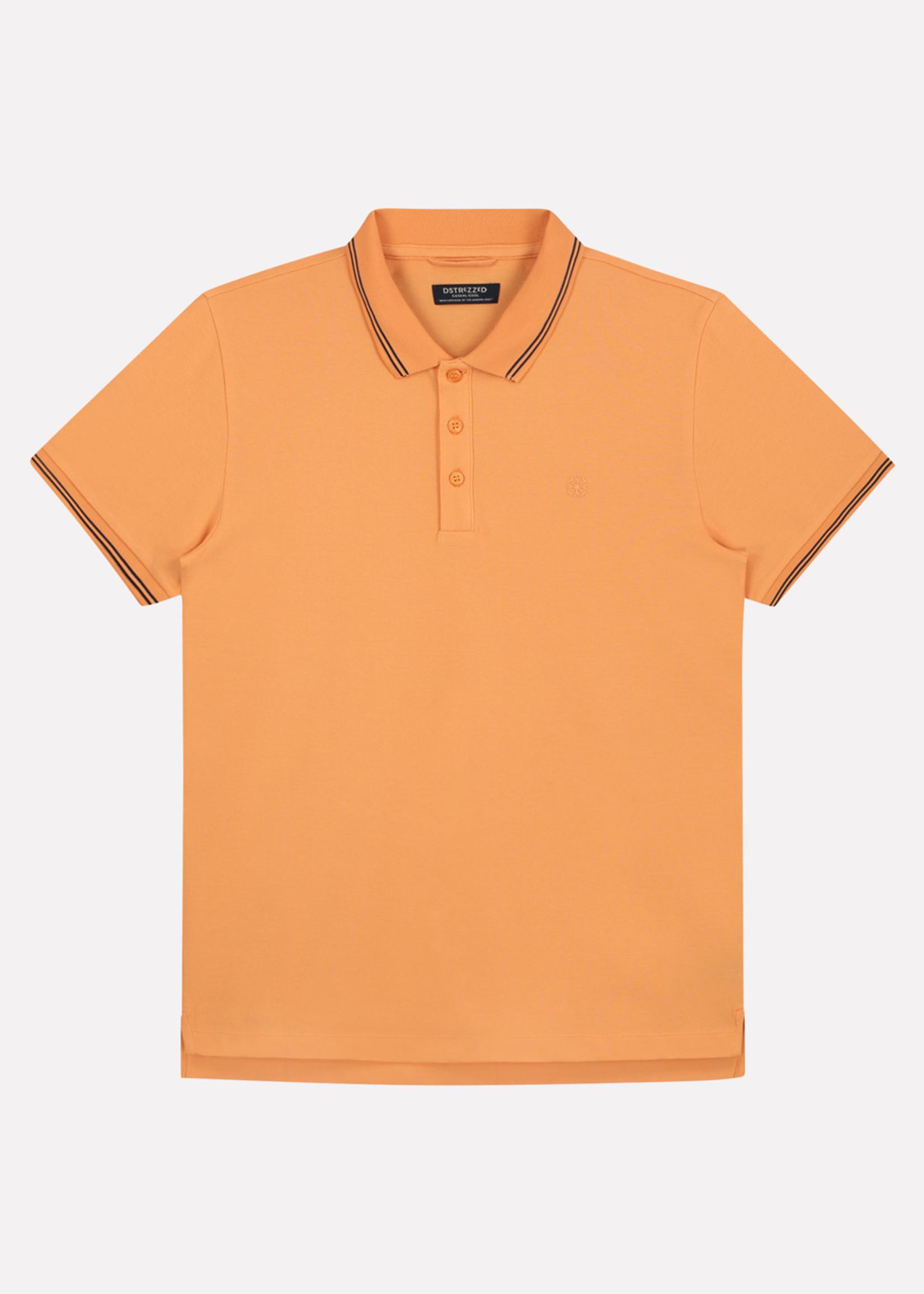 Dstrezzed Basic Polo Clean | Pumpkin | Dstrezzed