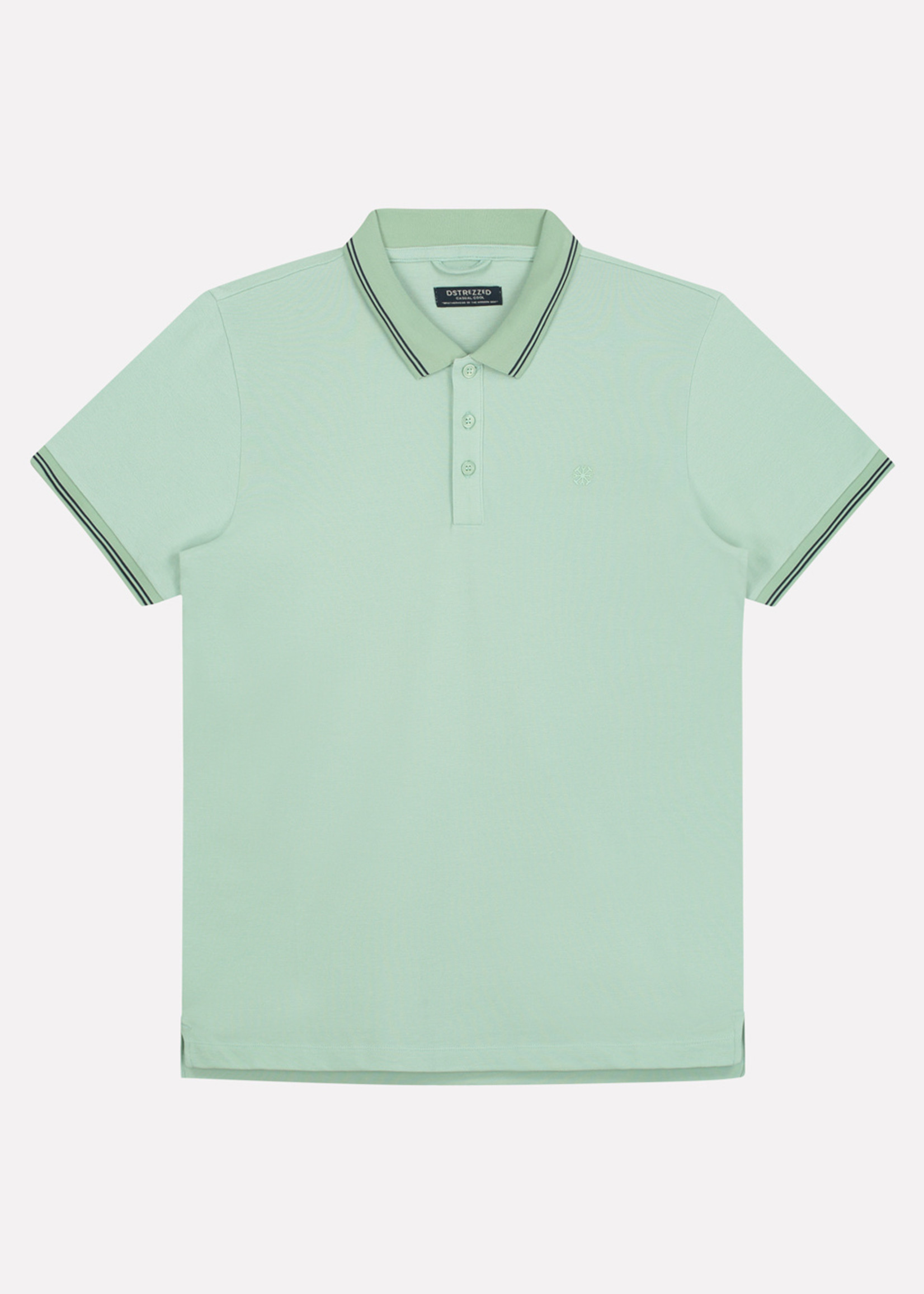 Dstrezzed Basic Polo Clean | Sea Green | Dstrezzed