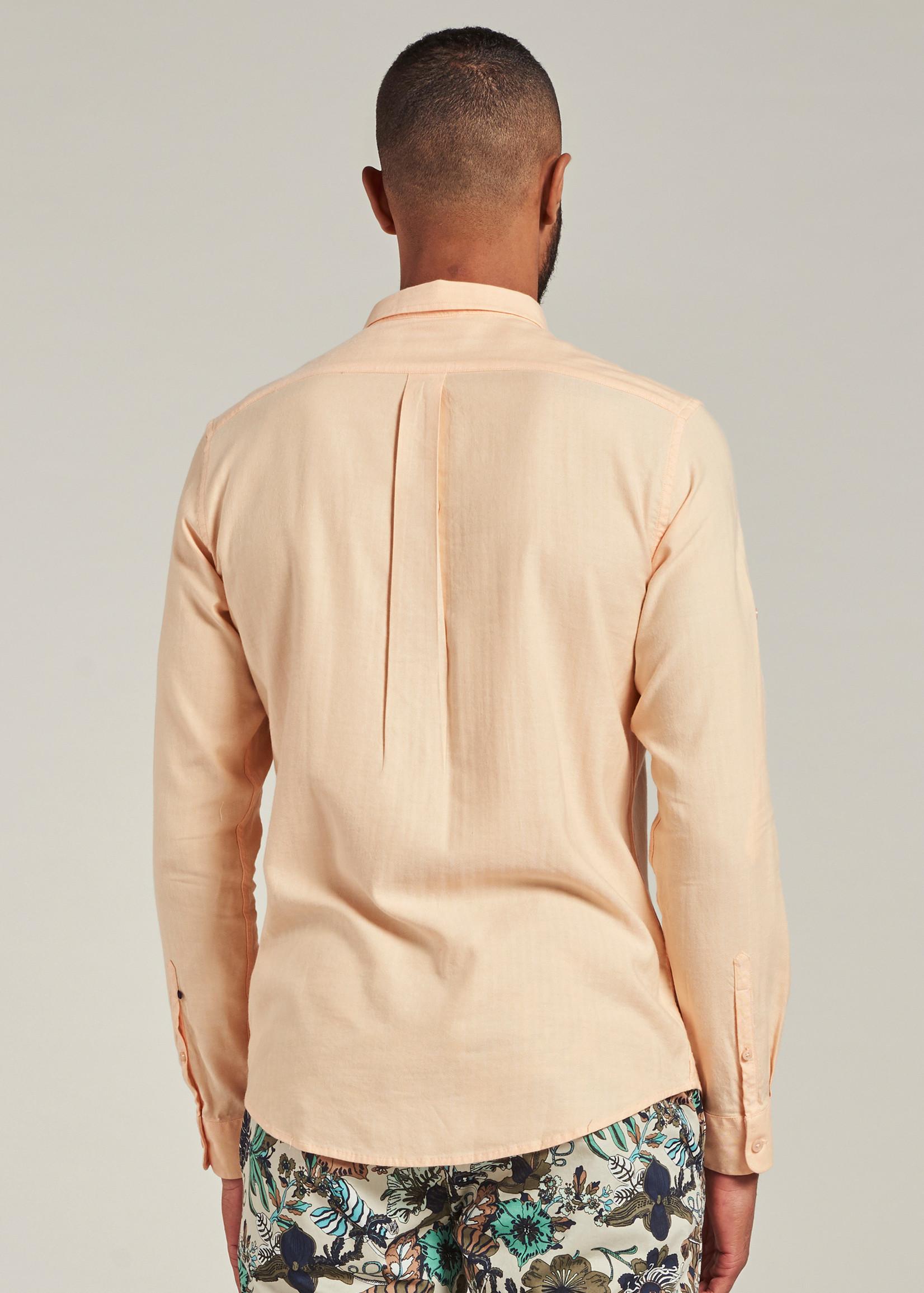 Dstrezzed Shirt BD Soft herringbone | Pumpkin | Dstrezzed