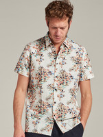 Dstrezzed Short sleeve shirt with painted flowers