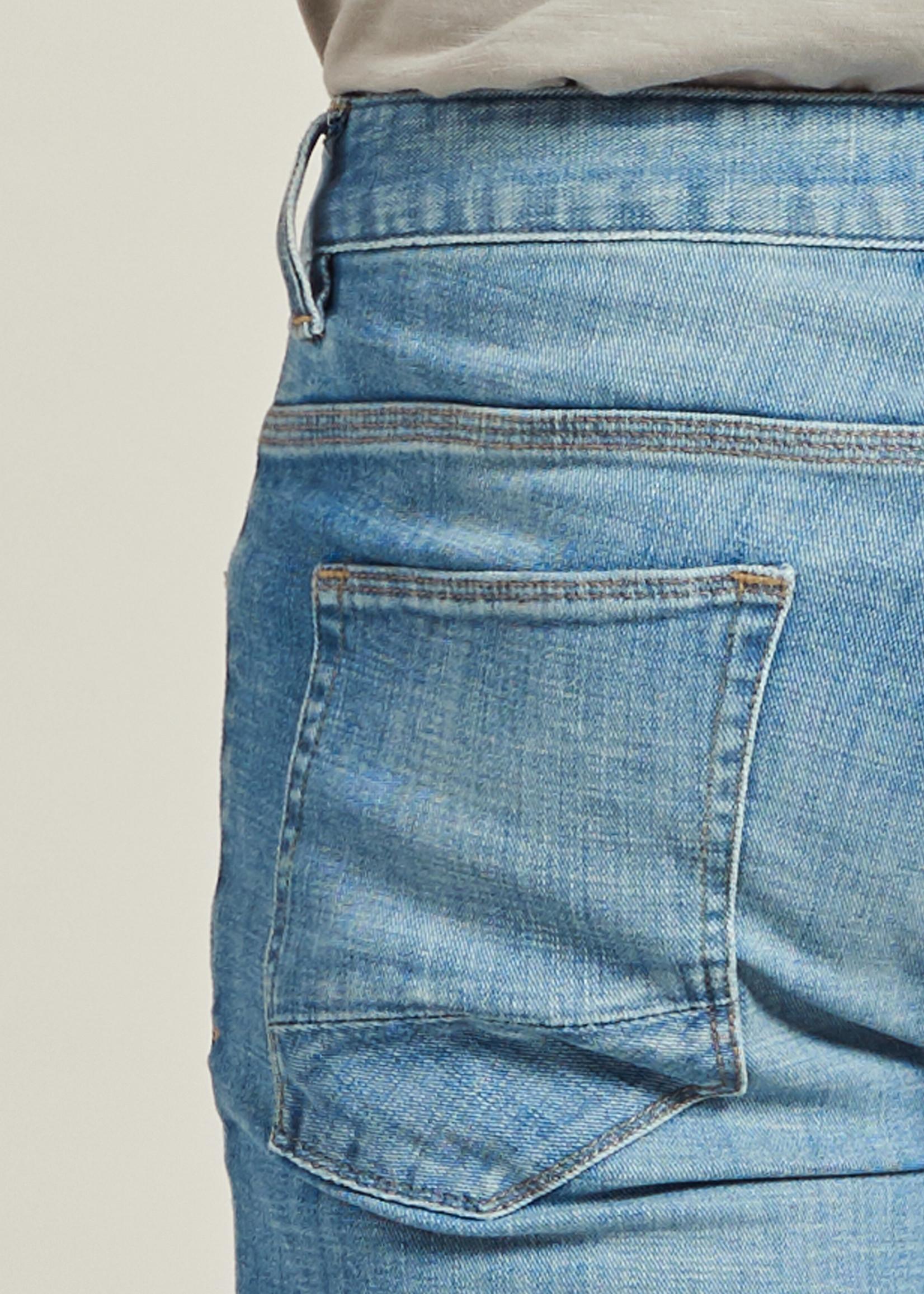 Dstrezzed Le short Michael J en denim stretch | Bleu clair | Dstrezzed