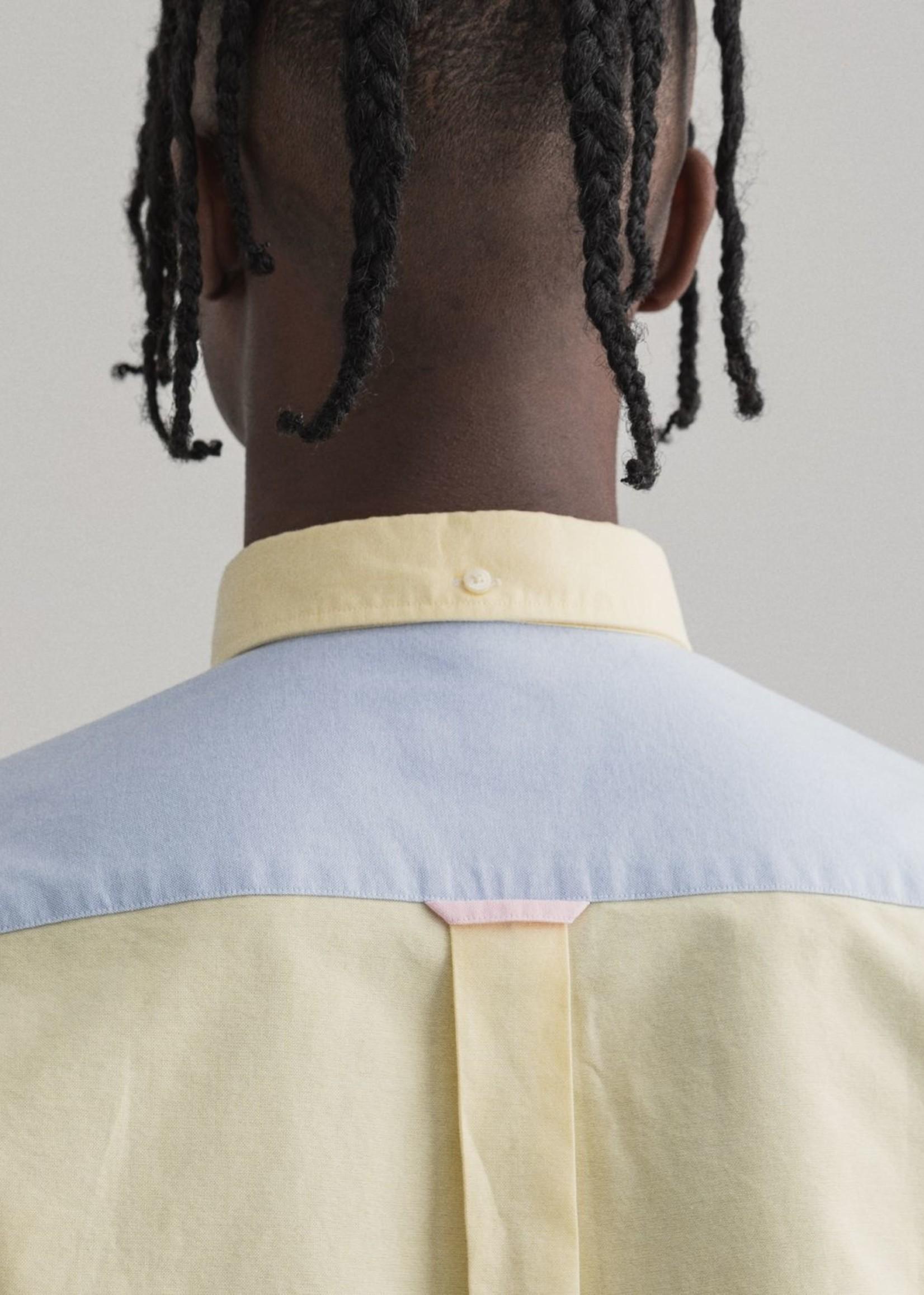 GANT Chemise regular fit à empiècements | Multicolor | GANT