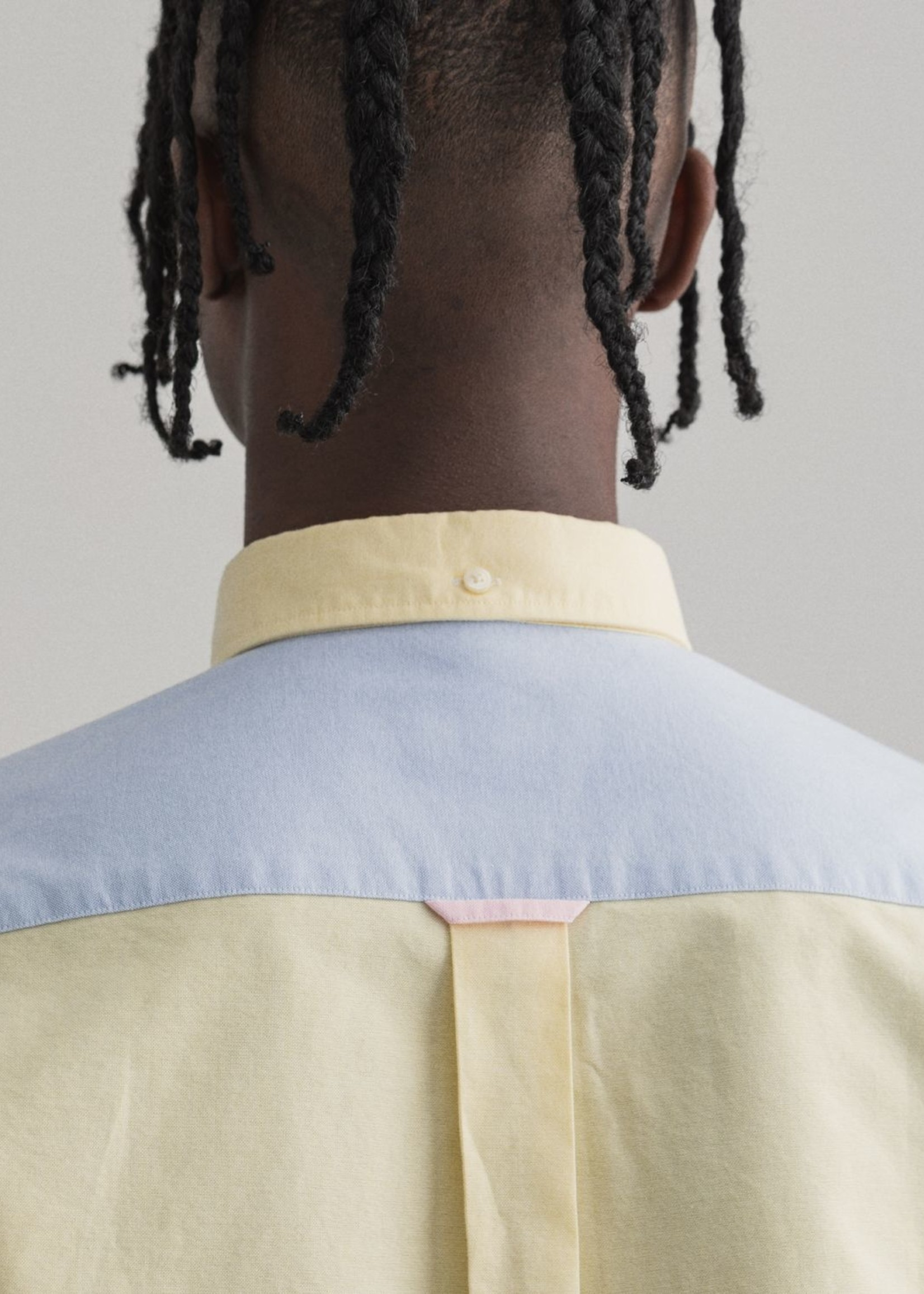 GANT Regular Fit Panel Shirt | Multicolor | GANT