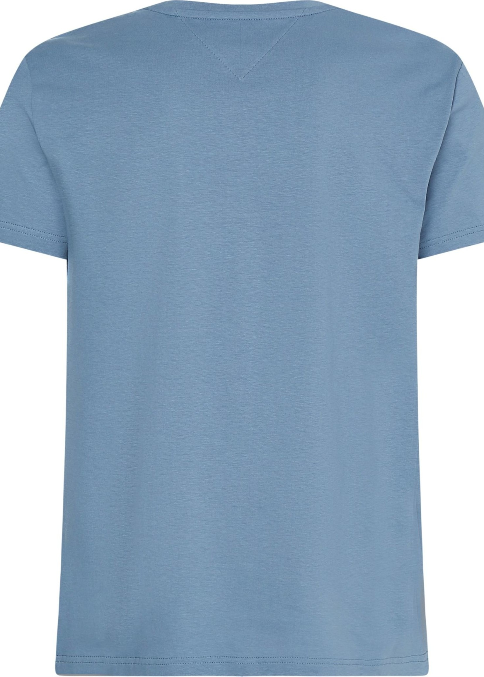 Tommy Hilfiger T-shirt en coton bio à logo | Bleu | Tommy Hilfiger
