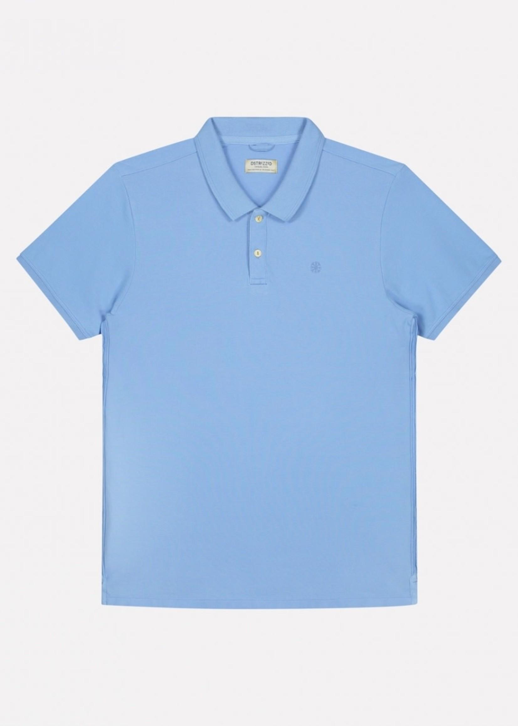 Dstrezzed Bowie Basic Polo Pique | Bleu clair | Dstrezzed