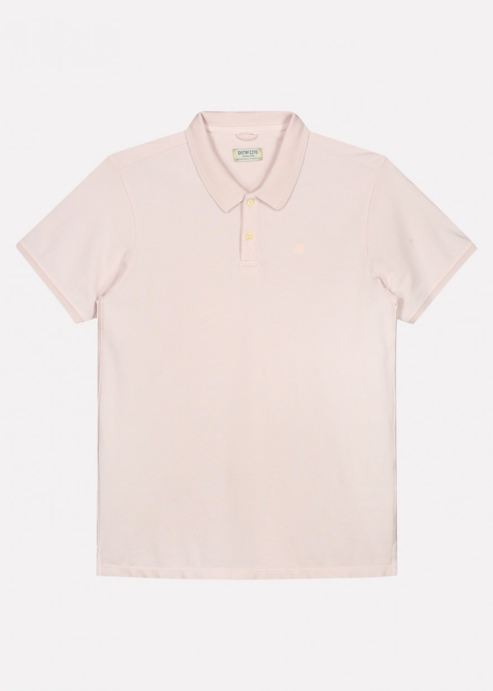 Dstrezzed Bowie Basic Polo Pique | Light Pink | Dstrezzed