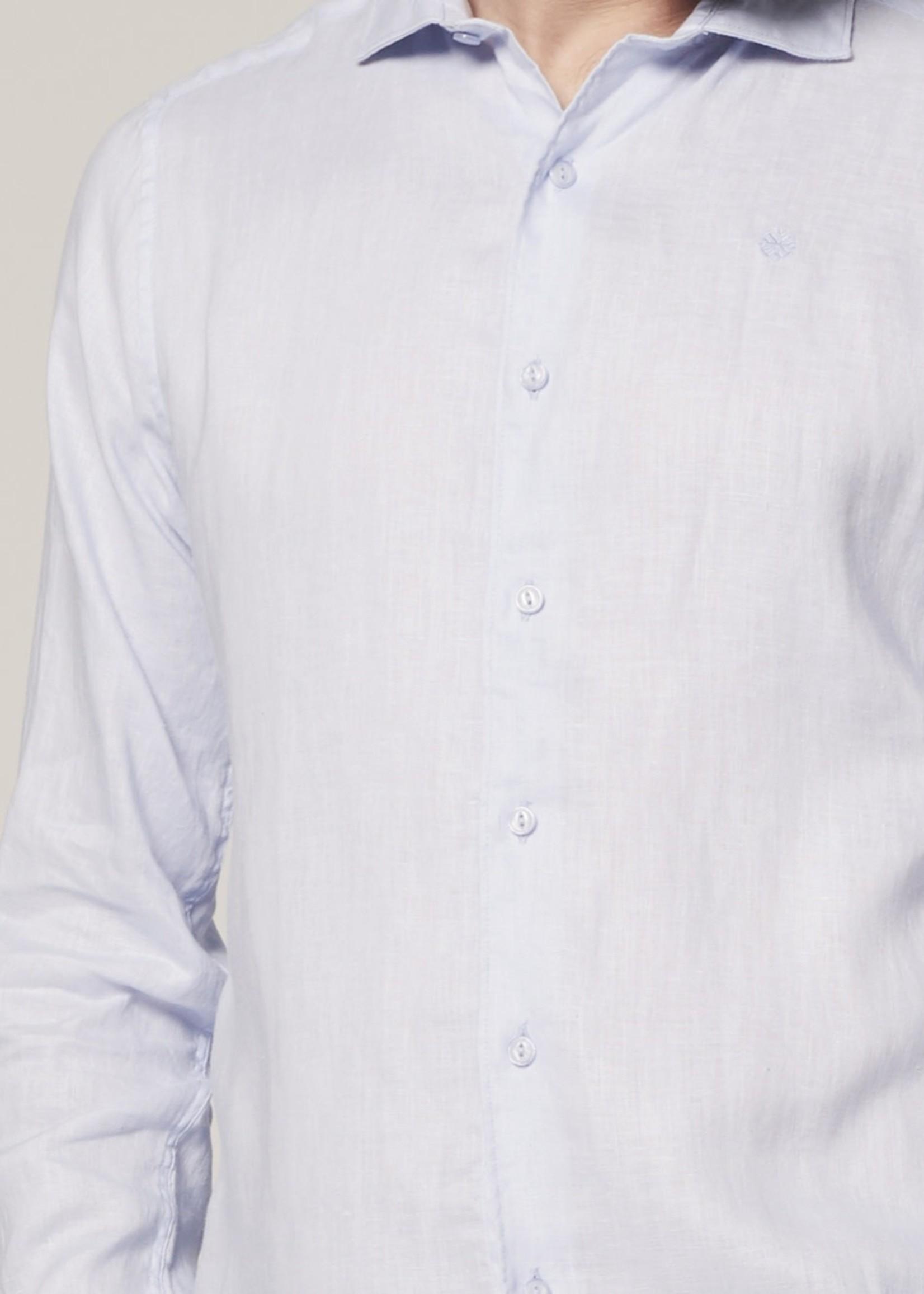 Dstrezzed 100% linnen overhemd   Lichtblauw   Dstrezzed