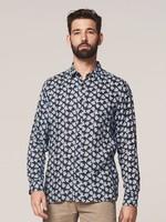 Dstrezzed 100% linen floral shirt