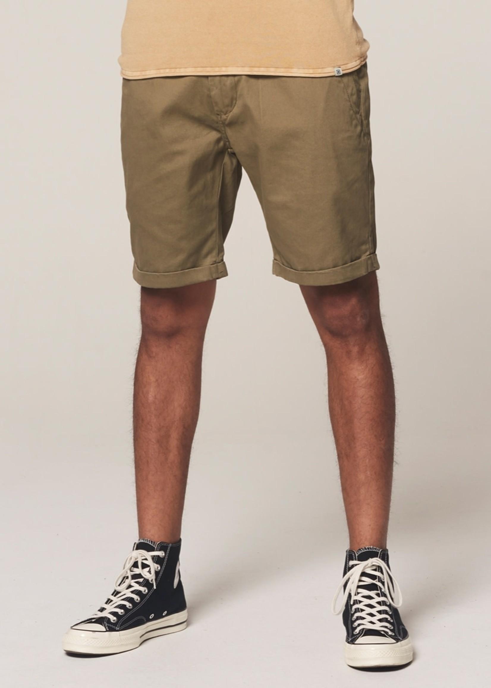Dstrezzed Chino shorts dense twill | Army Green | Dstrezzed