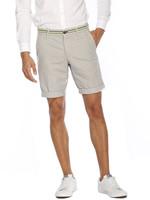 Mason's Short  model Torino Elegance met fluo detail