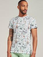 Dstrezzed T-shirt met hawaï print